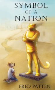 Front cover of the book Symbol of a Nation, art by Jenn 'Pac' Rodriguez